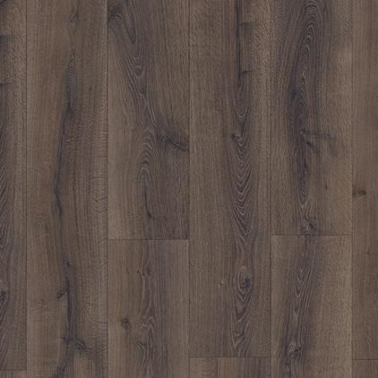 Ламинат Quick-step «МJ3553 Дуб пустынный шлифованный темно-коричневый» из коллекции Majestic