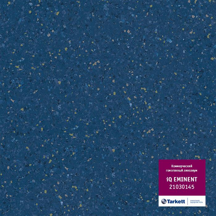 Линолеум Tarkett «Eminent DARK BLUE 0145» из коллекции IQ EMINENT