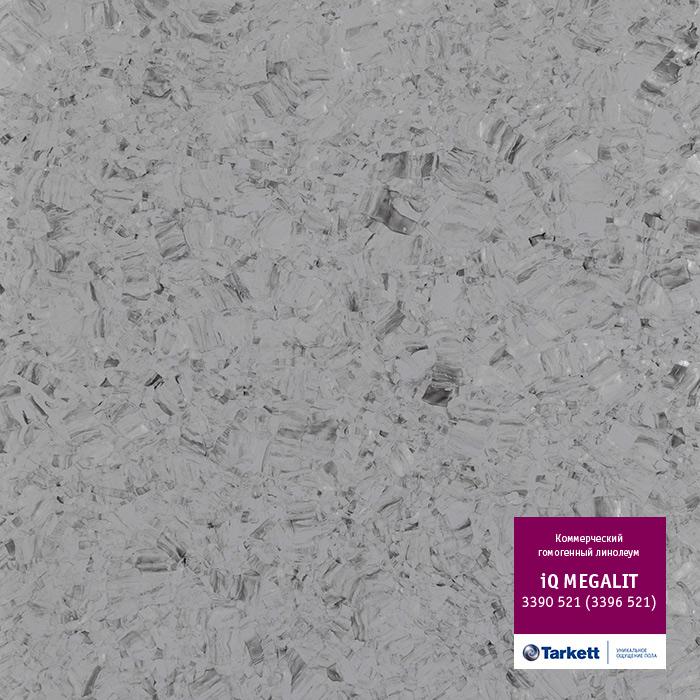 Линолеум Tarkett «Megalit BLACK 0601» из коллекции IQ MEGALIT