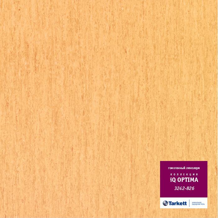 Линолеум Tarkett «Optima MEDIUM YELLOW  0826» из коллекции IQ OPTIMA