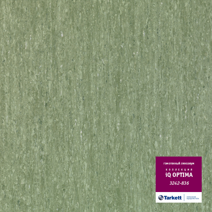 Линолеум Tarkett «Optima SALE GREEN  0836» из коллекции IQ OPTIMA