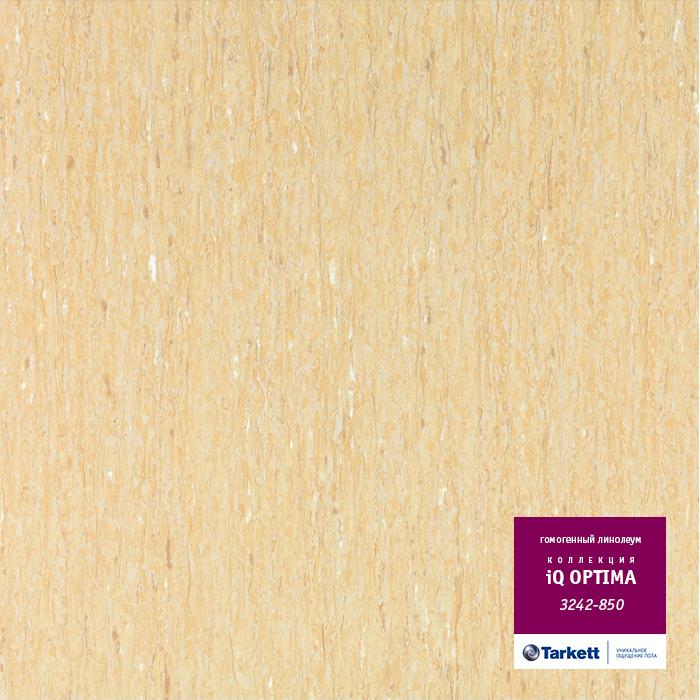 Линолеум Tarkett «Optima BEIGE 0850» из коллекции IQ OPTIMA