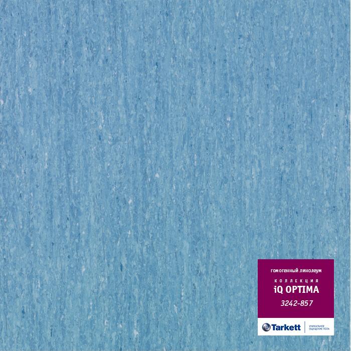 Линолеум Tarkett «Optima MEDIUM BLUE 0857» из коллекции IQ OPTIMA