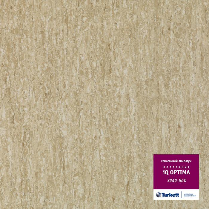 Линолеум Tarkett «Optima GREY BEIGE 0860» из коллекции IQ OPTIMA