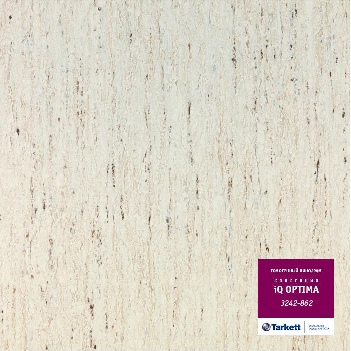 Линолеум Tarkett «Optima WHITE 0862» из коллекции IQ OPTIMA