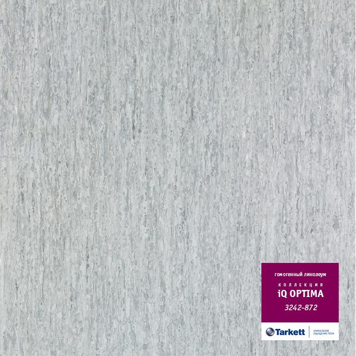 Линолеум Tarkett «Optima WHITE GREY 0872» из коллекции IQ OPTIMA