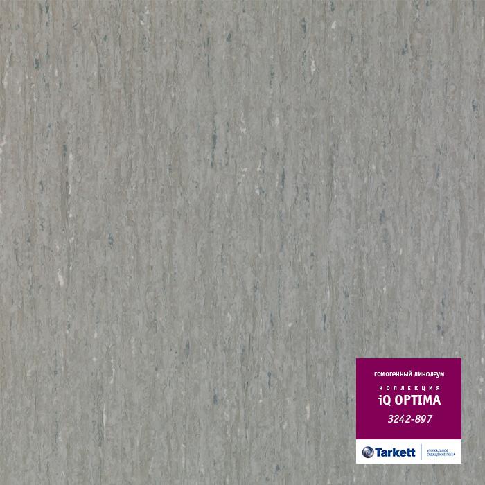 Линолеум Tarkett «Optima GREY BEIGE 0897» из коллекции IQ OPTIMA