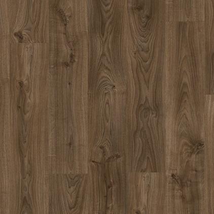 ПВХ плитка QUICK STEP «Дуб коттедж темно-коричневый BACL40027» из коллекции Balance Click