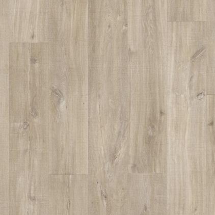 ПВХ плитка QUICK STEP «Дуб каньон светло-коричневый пиленый BACL40031» из коллекции Balance Click