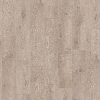 ПВХ плитка QUICK STEP «Жемчужный серо-коричневый дуб BACL40133» из коллекции Balance Click