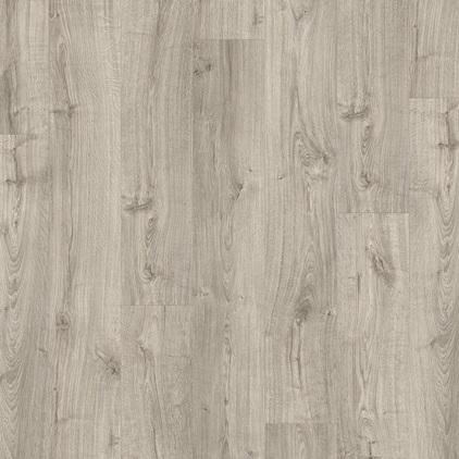 ПВХ плитка QUICK STEP «Дуб осенний теплый серый PUCL40089» из коллекции Pulse Click
