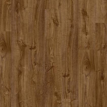 ПВХ плитка QUICK STEP «Дуб осенний коричневый PUCL40090» из коллекции Pulse Click