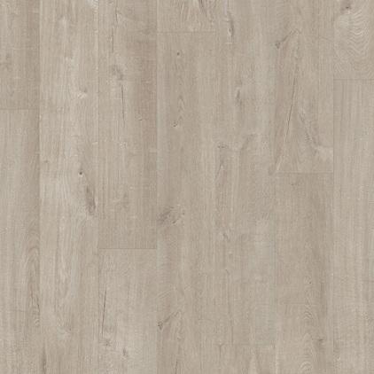 ПВХ плитка QUICK STEP «Дуб хлопковый светло-серый PUCL40105» из коллекции Pulse Click